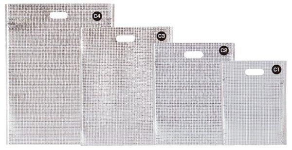 画像1: 保冷袋 ミナクールパック 平袋 Sサイズ C1 (210×275mm) 酒井科学工業 1ケース100枚入り (1)