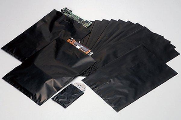 画像1: 静電気対策製品 電気部品用 導電性袋(EL-B) エレウォール MKB-1 (0.05×100×150mm) 1ケース5,000枚入り (1)